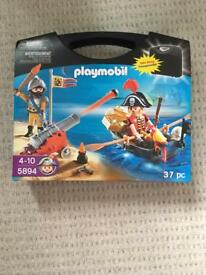 Playmobil 5894 Pirate Carry case
