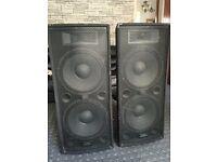 speaker ZP215 400w RMS 3 way passive PA