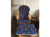 Repolstered Rocking Chair