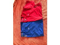 Nike dri-fit men's t shirts red and blue size medium M