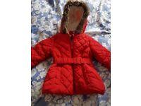 M&S girl jacket 1.5-2 years