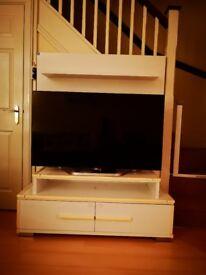 TV unit - designer Dogtas glossy white