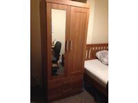 Wardrobe malm pine chest of 2 Doors, 2 Drawers