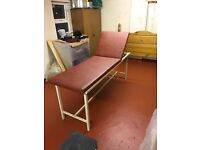 Adjustable Incline Massage Bed / Patient Treatment Table / Couch