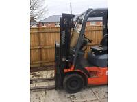 Toyota Diesel Folk Lifts SAS 1.8 Ton and 3.72 Ton - Serviced - Ready to use