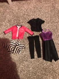 Barbie Fashionista Clothes/clothing Dolls Bundle Fifth Harmony Normani Dress