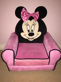 Kids armchair Minnie Mouse. Worth £60