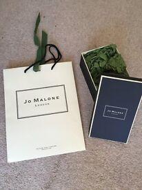 Jo Malone box and bag