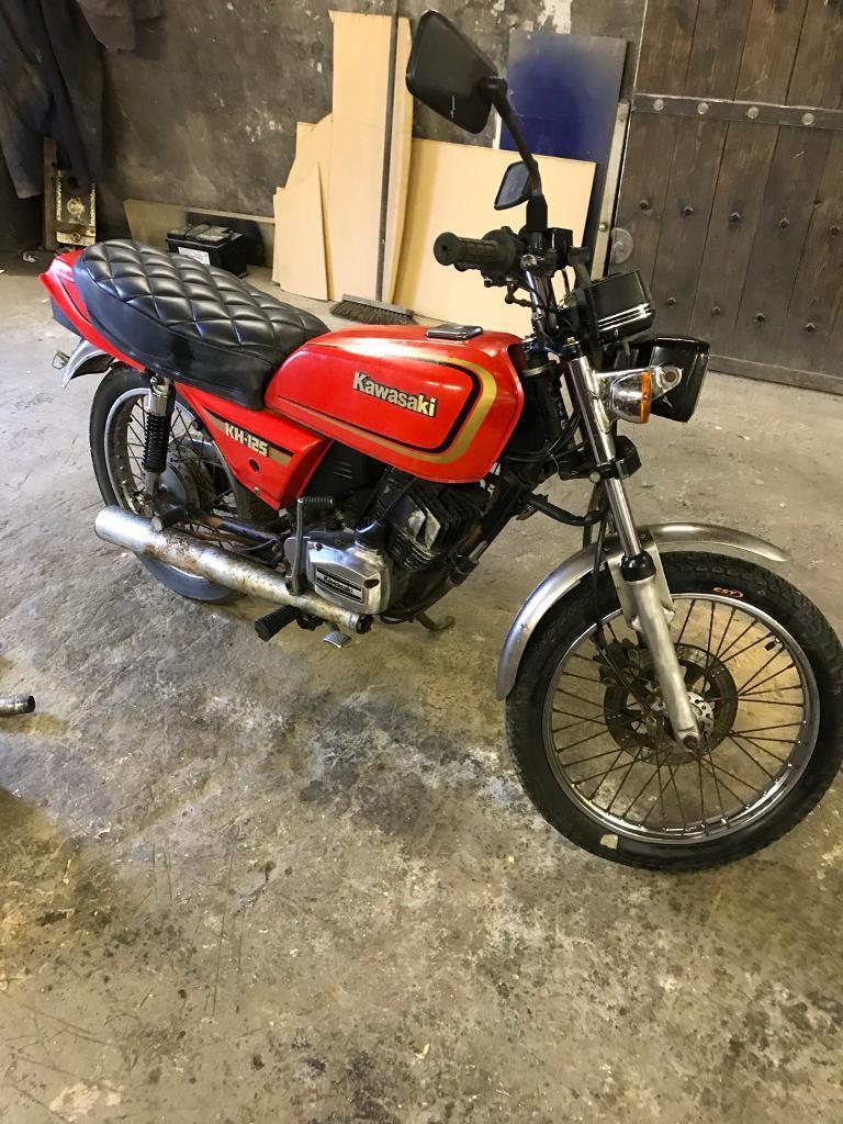 Kawasaki kh125 1989 project