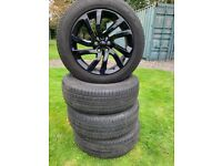 Genuine gloss black Land Rover wheels