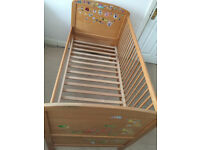 MOTHERCARE WOOD BED
