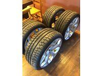 20 inch alloys genuine BMW 9.5jj brand new tyres