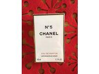 Chanel no5 eau de parfum 50ml BNIB