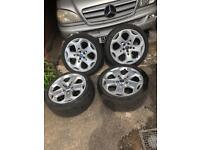 Genuine Ford mondeo mk4 18' alloys&tyres