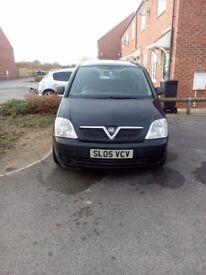 Vauxhall meriva 1.6 life automatic