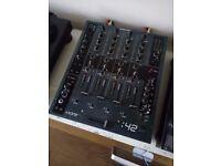 Allen & Heath XONE 42 DJ mixer with cover