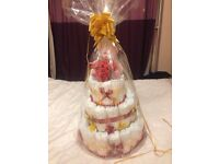 Nappy cake or baby gift