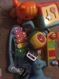 Toddler toys some vtech
