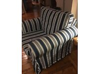Ikea Ektorp Armchairs Good condition. Covers need replacing. Can deliver in Barry.
