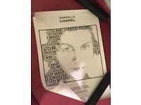 Gabrielle Chanel print