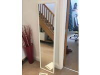 IKEA Full Length STAVE NISSEDAL White Mirror H160cm x W40cm x D4.5cm