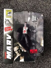 Sin city Marv comic con exclusive edition figure numbered 1107 of 1300