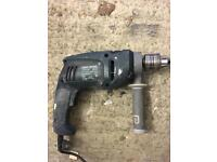 Power drill and angle grinder