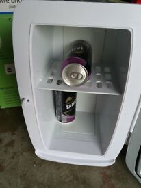 Mini beer fridge Collect Ripon Mains AND car voltage