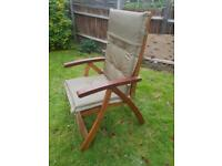 Garden furniture, chairs & table