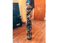 Tribal Decorative Wooden Feature