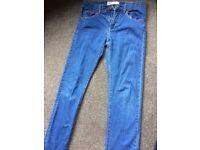 Levi 510 boy skinny jeans age 14