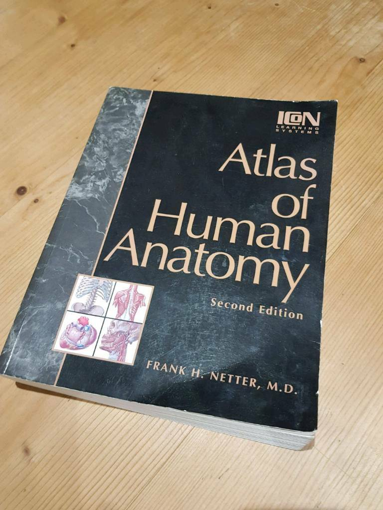 Atlas Of Human Anatomy Frank H Netter Md In Hedge End