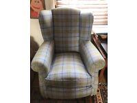 Wing Chair Fireside High Back Armchair