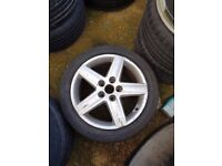 Audi A4 16'' Spare Star Wheel Can Post