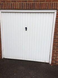 2 White Cardale Garage Doors