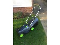 G-tech rechargeable lawn mower