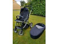 Oyster max double pushchair system
