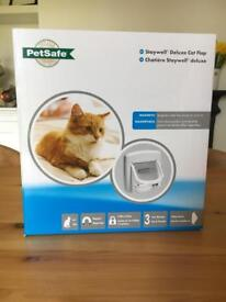 Brand new Petsafe Staywell Deluxe Cat Flap