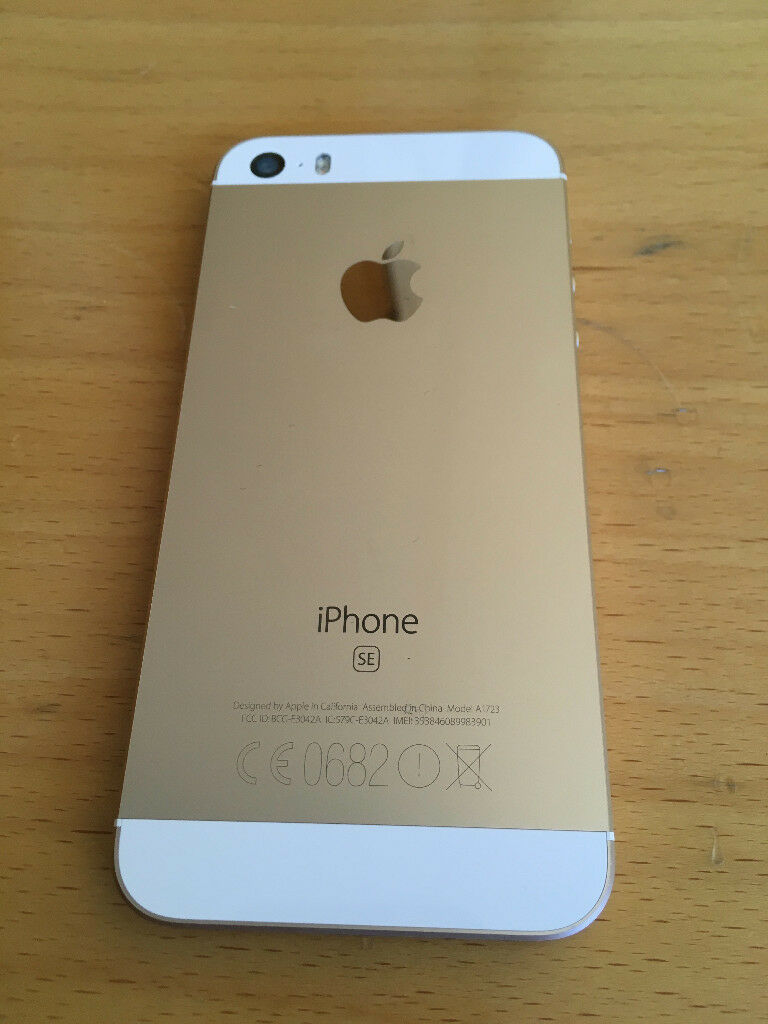 apple iphone se gold 32 gb on o2 giffgaff great price in crystal palace london gumtree. Black Bedroom Furniture Sets. Home Design Ideas