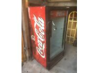 Large Fridge, Glass fronted - good as a beer fridge.