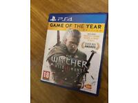 The Witcher Wild Hunt GOTY Edition PS4
