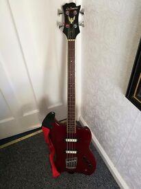 Bass guitar Dearmond by guild