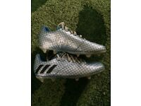 Kids Messi football boots size 12 only worn twice as too tight for my son like new condition