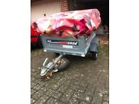Erde Car Trailer in excellent condition with bespoke cover if wanted