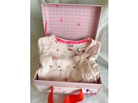 Ted Baker girl 3-6 months sleep suit