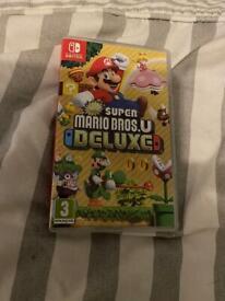 Mario deluxe switch game