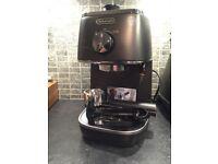 De'Longhi Distinta ECI341 Pump Espresso Coffee Maker, Black