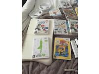 Wii / wii fit board 15 games