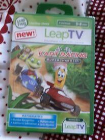 Leap TV karting game (Unused)