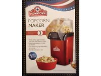 downtown electric popcorn maker brand new in box